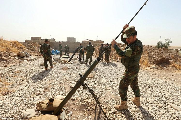 Anh quan doi Iraq chuan bi danh phien quan IS o Mosul-Hinh-10