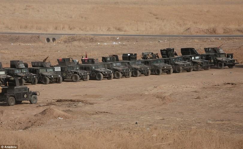 Anh quan doi Iraq chuan bi danh phien quan IS o Mosul-Hinh-13