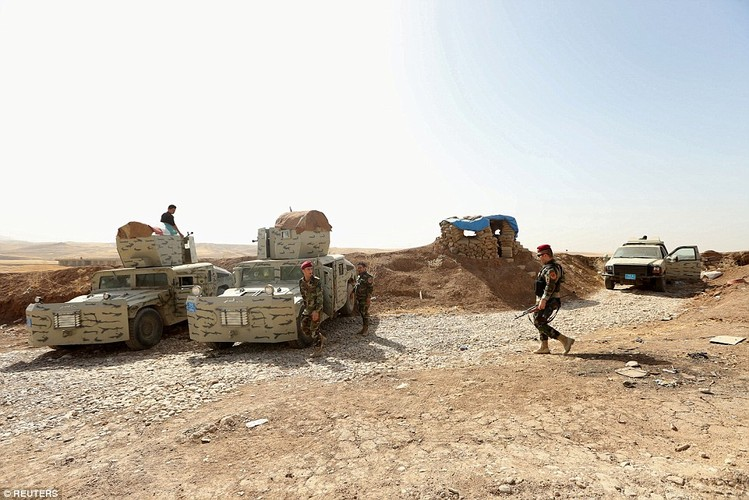 Anh quan doi Iraq chuan bi danh phien quan IS o Mosul-Hinh-15