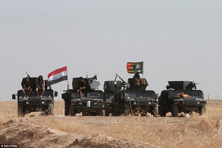 Anh quan doi Iraq chuan bi danh phien quan IS o Mosul-Hinh-9