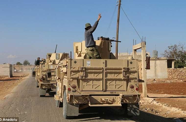 Anh: Quan noi day FSA an mung chien thang o Dabiq-Hinh-5