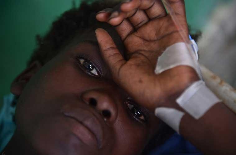 Khung hoang nhan dao o Haiti sau sieu bao Matthew-Hinh-3