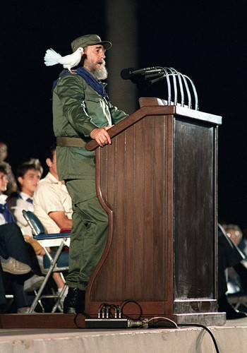Loat anh hiem ve lanh tu Cuba Fidel Castro-Hinh-13