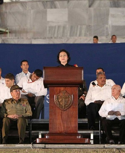 Lanh dao the gioi du le tuong niem lanh tu Fidel Castro-Hinh-2