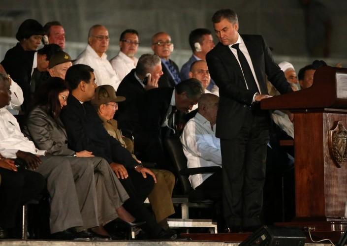 Lanh dao the gioi du le tuong niem lanh tu Fidel Castro-Hinh-9