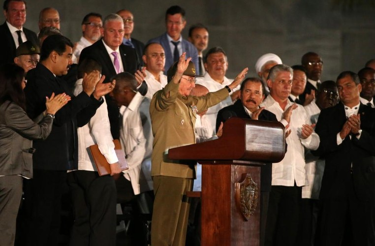 Lanh dao the gioi du le tuong niem lanh tu Fidel Castro