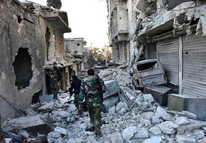 Anh: Quan doi Syria thang nhu che tre o Dong Aleppo-Hinh-3