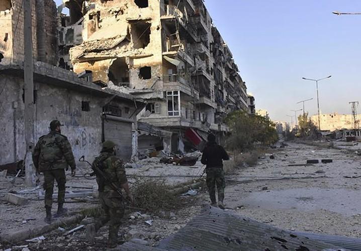 Anh: Quan doi Syria thang nhu che tre o Dong Aleppo-Hinh-4
