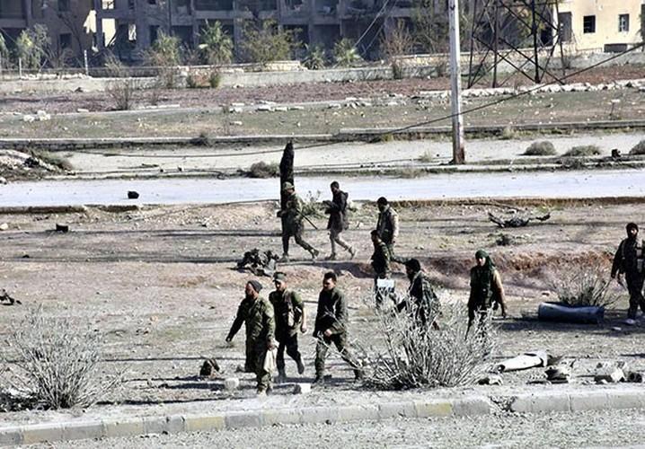 Anh: Quan doi Syria thang nhu che tre o Dong Aleppo-Hinh-6