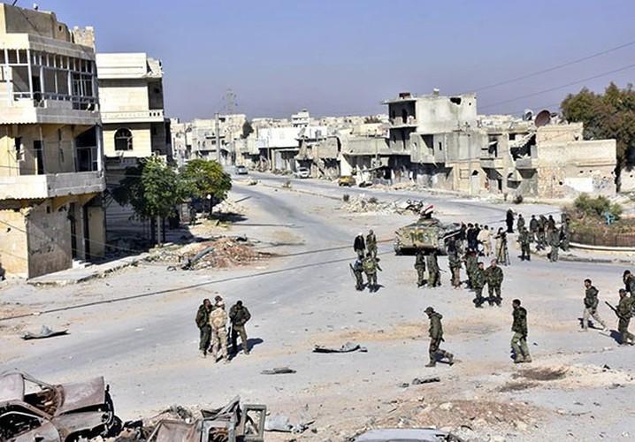 Anh: Quan doi Syria thang nhu che tre o Dong Aleppo-Hinh-7