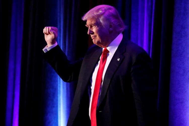Chum anh hoat dong cua Tong thong dac cu Donald Trump