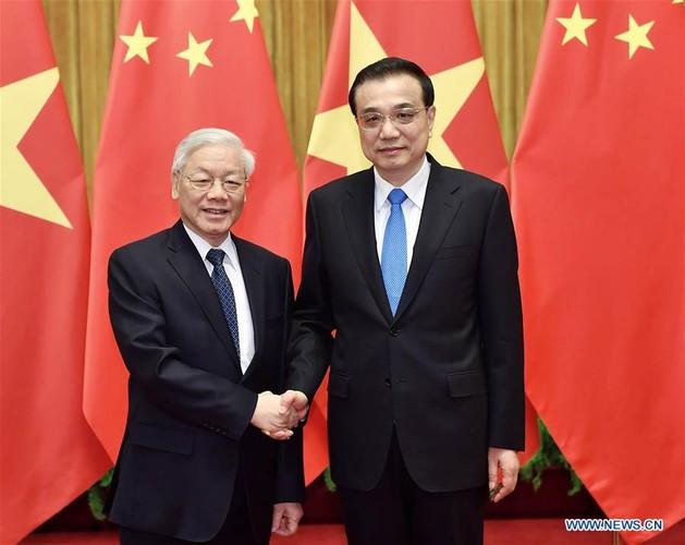 Anh: Tong Bi thu Nguyen Phu Trong tham Trung Quoc tren Tan Hoa Xa-Hinh-2