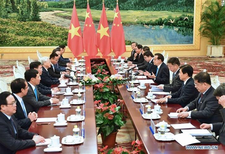 Anh: Tong Bi thu Nguyen Phu Trong tham Trung Quoc tren Tan Hoa Xa-Hinh-3