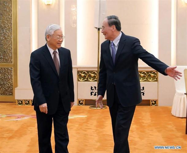 Anh: Tong Bi thu Nguyen Phu Trong tham Trung Quoc tren Tan Hoa Xa-Hinh-7