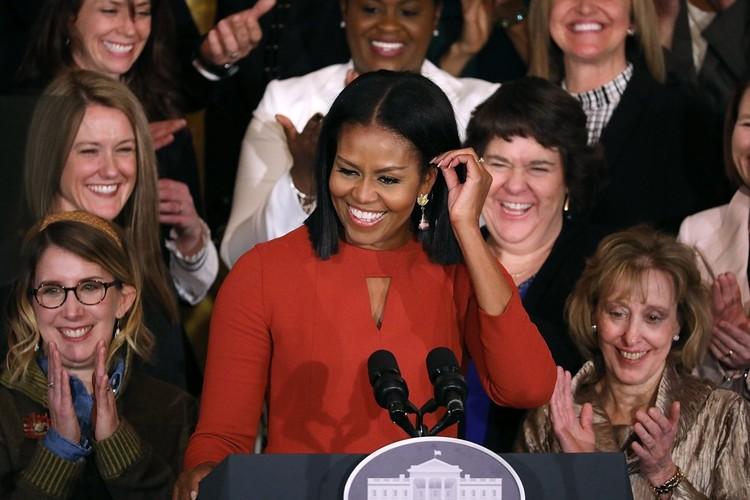 Ngam De nhat phu nhan Michelle Obama trong nhung mot thoi thuong-Hinh-14