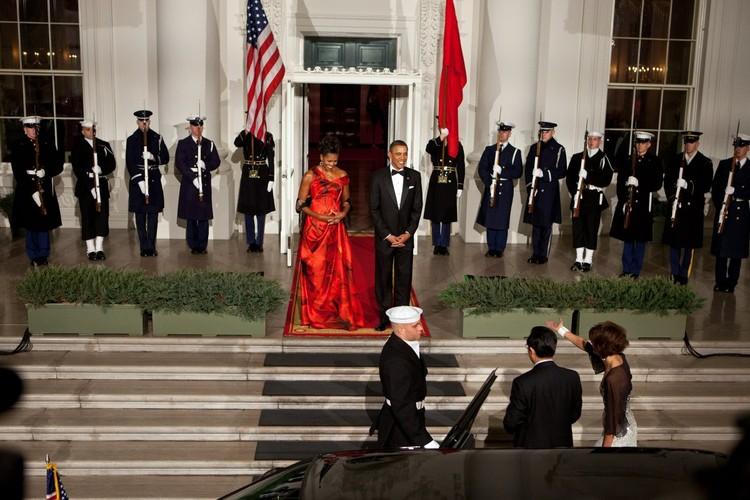 Ngam De nhat phu nhan Michelle Obama trong nhung mot thoi thuong-Hinh-4