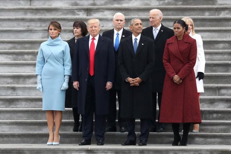 Hinh anh noi bat trong le nham chuc cua ong Donald Trump-Hinh-3