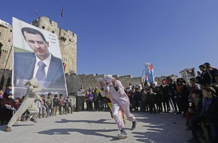Thanh pho Aleppo binh yen trong do nat qua anh Sputnik-Hinh-3