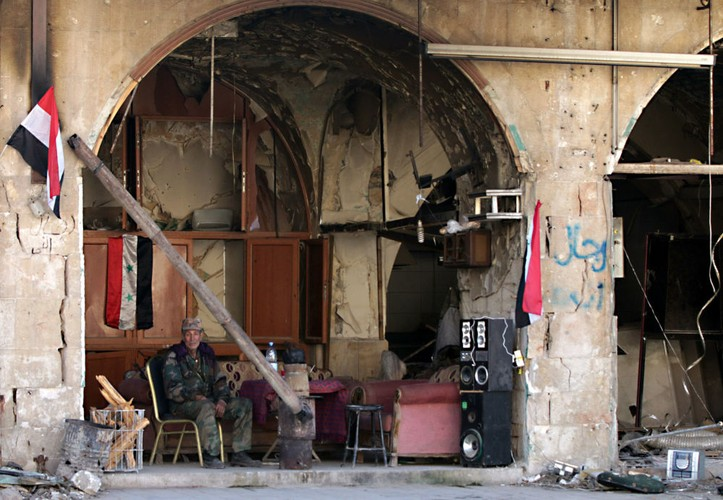 Thanh pho Aleppo binh yen trong do nat qua anh Sputnik-Hinh-7