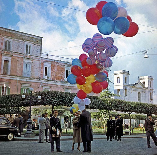 Chum anh thanh pho Napoli nhung nam 1950-Hinh-3