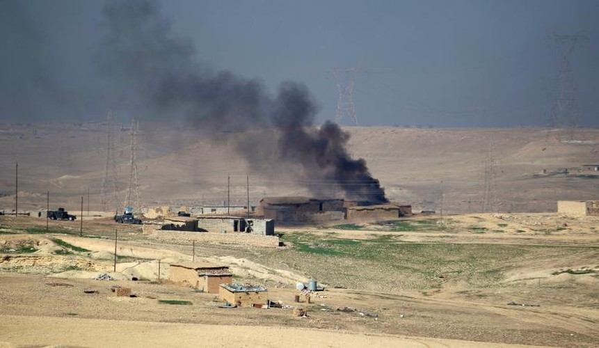 Anh moi nhat ve chien dich Iraq danh IS o tay Mosul-Hinh-10