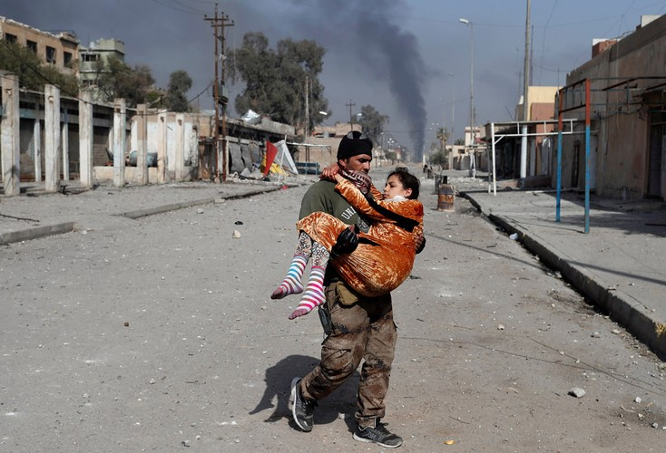 Loat anh chua tung biet ve danh IS o Tay Mosul-Hinh-7