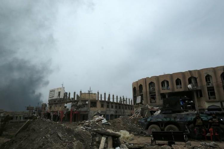 Hinh anh chien su moi nhat o thanh pho Mosul-Hinh-5