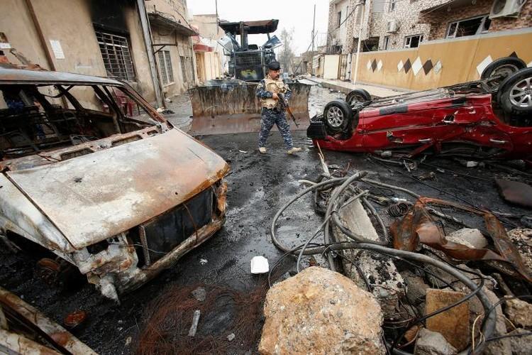 Hinh anh chien su moi nhat o thanh pho Mosul-Hinh-7