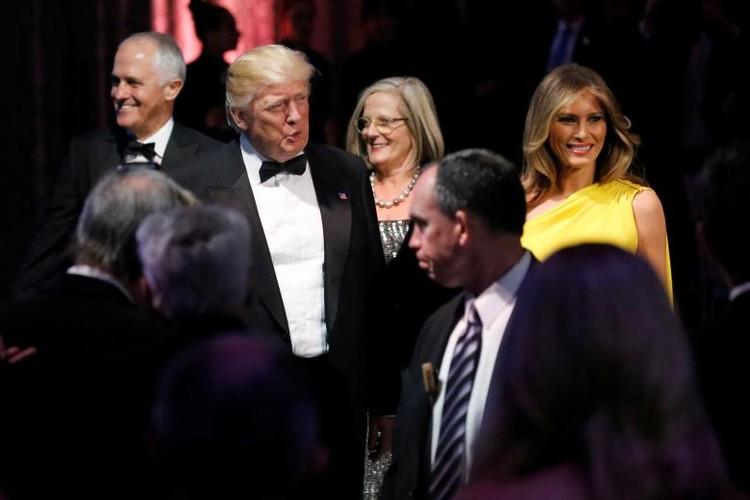 Anh: Dan chung phan doi ong Trump tro ve New York