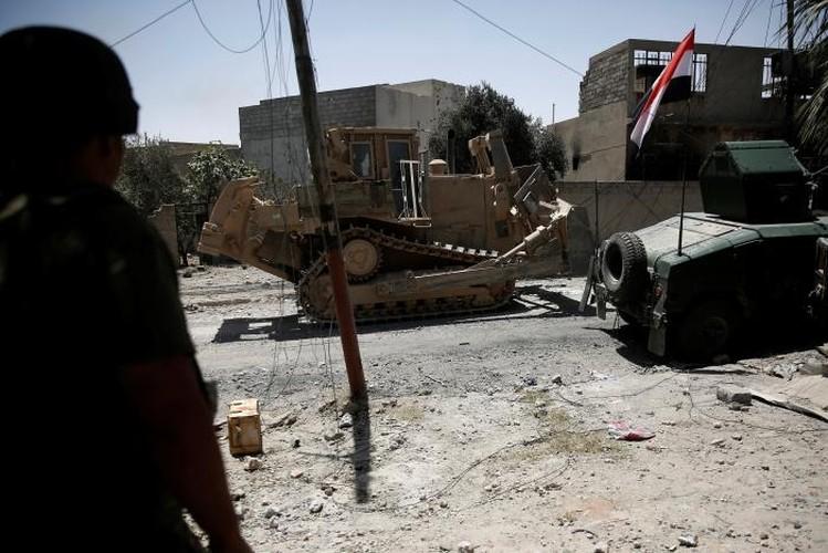 Anh: Iraq tan cong vao hang o IS cuoi cung o Mosul-Hinh-6