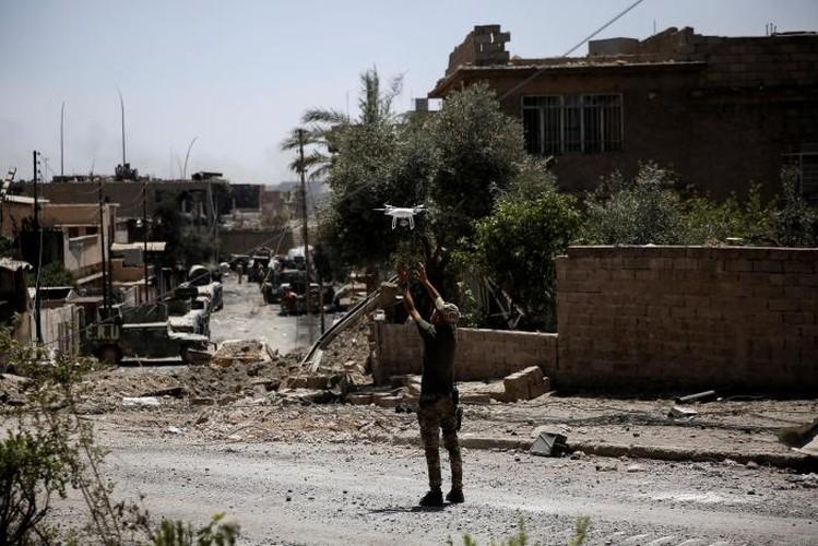 Anh: Iraq tan cong vao hang o IS cuoi cung o Mosul-Hinh-7