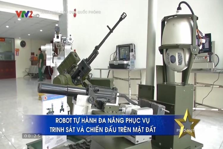 Bat ngo: Viet Nam che tao thanh cong robot chien dau