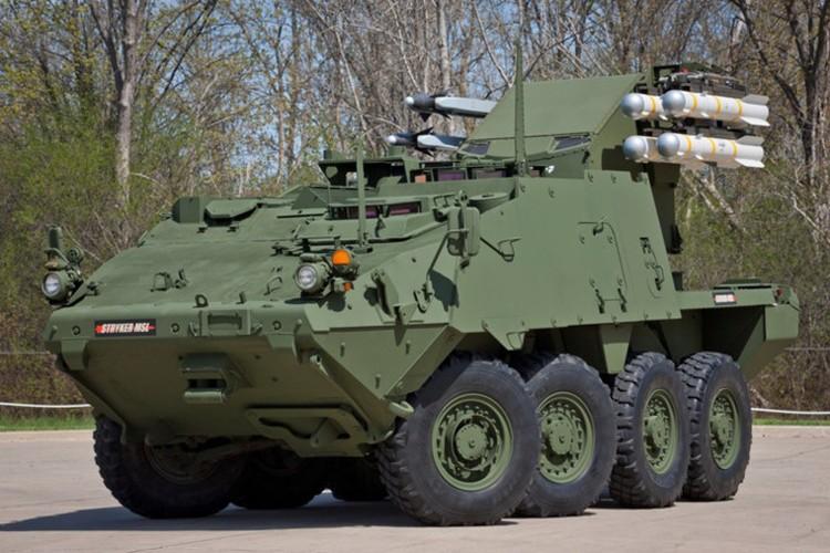 My lot xac Stryker, may bay, xe tang Nga coi chung-Hinh-6
