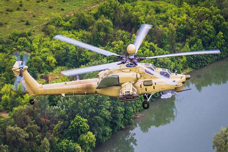 Vua thu nghiem o Syria, Mi-28UB da duoc san xuat hang loat