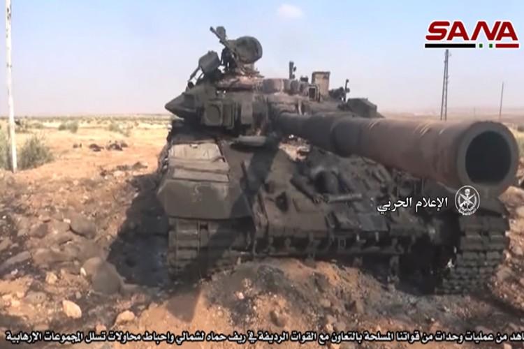 Dung nhu pha: T-90 o Syria, chiec chay den, chiec nat bet-Hinh-2