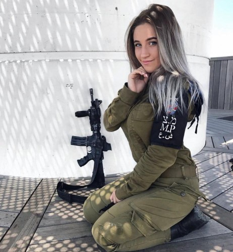 Ve dep goi cam cua cac nu quan nhan Israel-Hinh-5