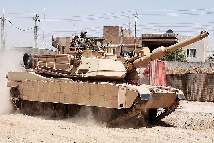 Trang bi them Trophy, M1 Abrams quyet an thua du voi T-14 Armata