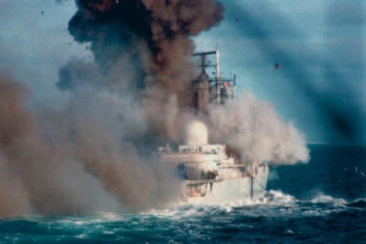 Ve tinh Lien Xo danh chim tau chien Anh trong Chien tranh Falkland-Hinh-9