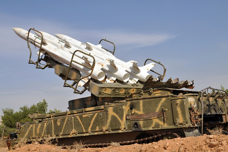 """Vi sao """"luoi lua"""" phong khong Syria luon bat hut may bay Israel?-Hinh-10"""