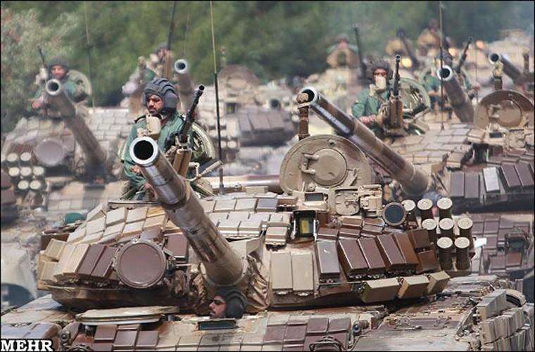 Them giap ERA, xe tang Iran se vuot troi T-90?-Hinh-2
