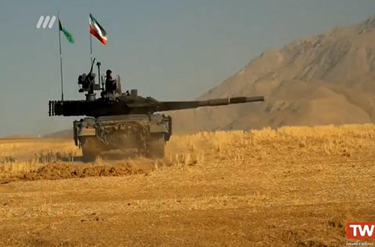 Them giap ERA, xe tang Iran se vuot troi T-90?-Hinh-4