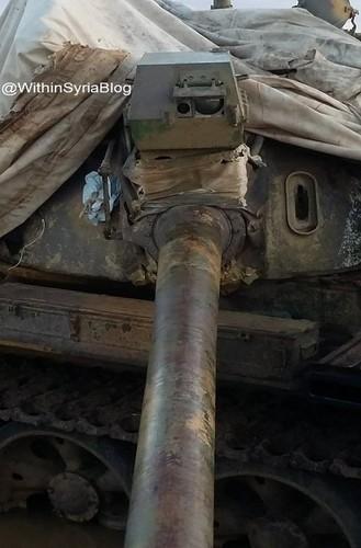 Kinh ngac xe tang T-55 Syria duoc Trieu Tien nang cap-Hinh-2