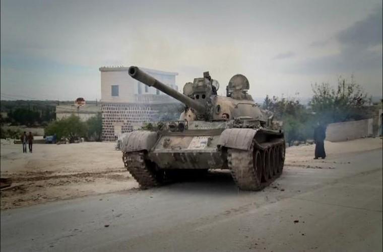 Kinh ngac xe tang T-55 Syria duoc Trieu Tien nang cap-Hinh-3