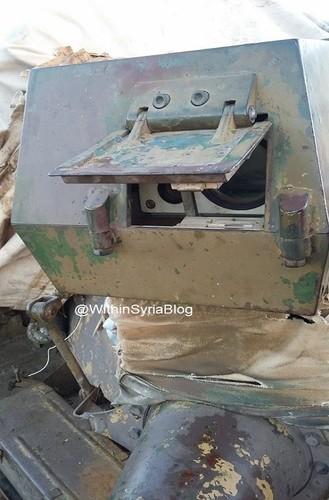 Kinh ngac xe tang T-55 Syria duoc Trieu Tien nang cap-Hinh-4