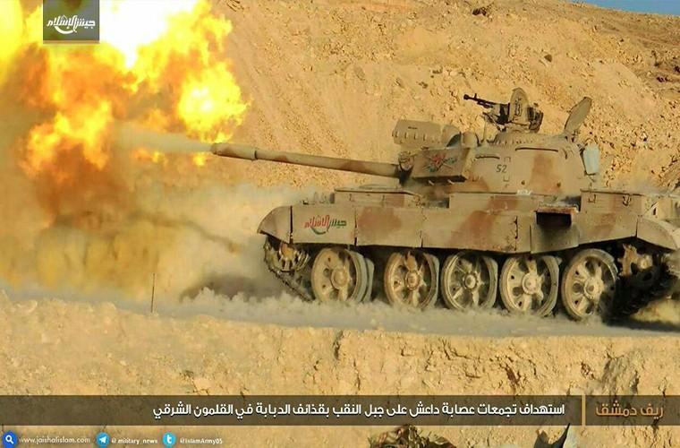 Kinh ngac xe tang T-55 Syria duoc Trieu Tien nang cap-Hinh-9