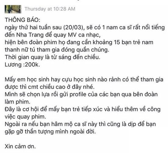 Bat ngo cat xe dien vien quan chung trong MV Bich Phuong-Hinh-8