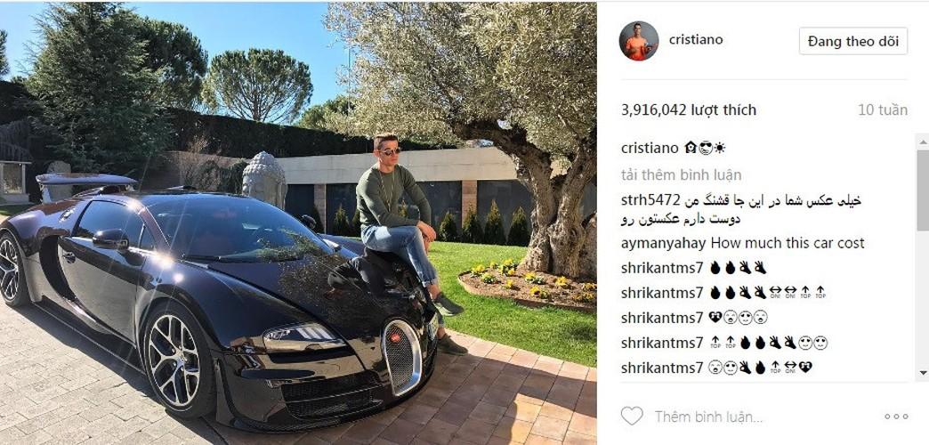 Top 10 anh nhan sieu bao like cua Ronaldo tren Instagram