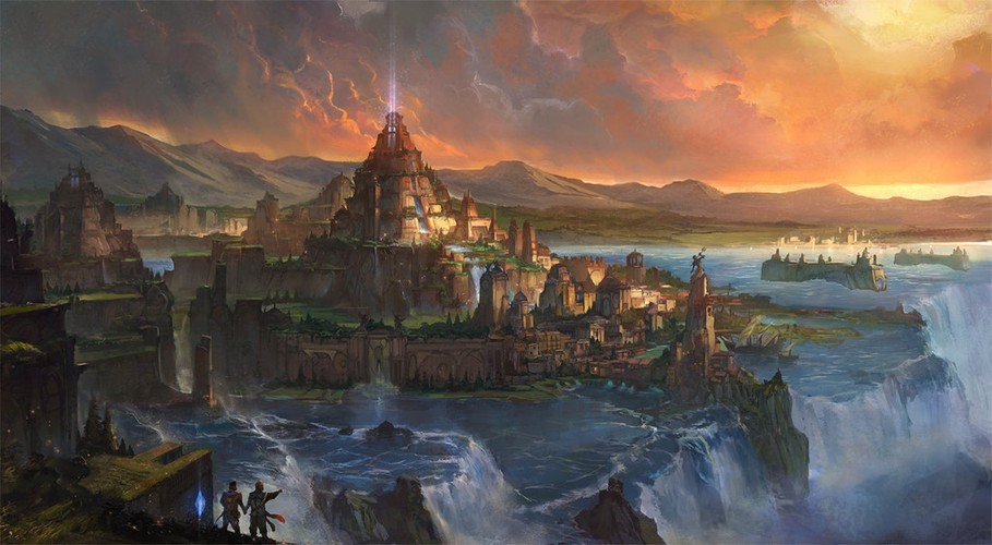 Nhung truyen thuyet bi an ve thanh pho huyen thoai Atlantis