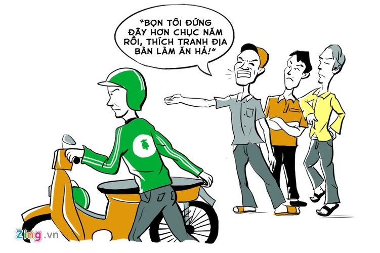 Cuoc chien giua xe om truyen thong va xe om cong nghe-Hinh-3