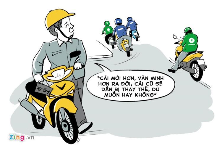 Cuoc chien giua xe om truyen thong va xe om cong nghe-Hinh-8